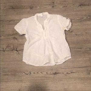 White H&M Shirt Size 10